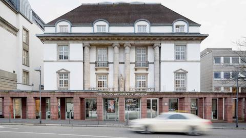 Fassade des Deutschen Architekturmuseums