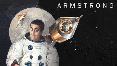 "Bastian Pastewka im Online-Special ""Making Armstrong"""