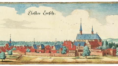 Visualisierung Kloster Lorsch