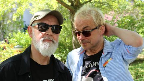 Gerd Knebel und Henni Nachtsheim gucken in die Kamera