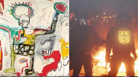 Schirn Vorschau, Basquiat/ Power to the People