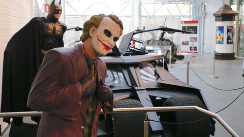Batmobil mit Joker