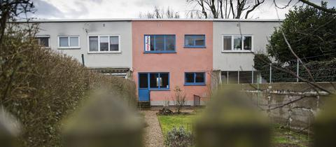 Ein Haus in der Ernst-May-Siedlung in Frankfurt