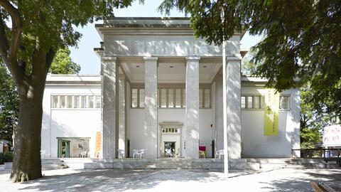 Der Deutsche Pavillon bei der Architektur-Biennale in Venedig.