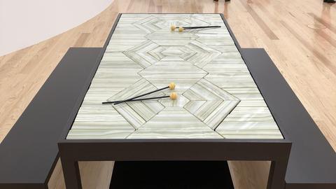 Onyx Music Table, Doug Aitken