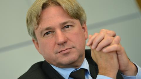Buchmessen-Direktor Juergen Boos