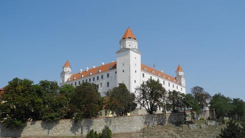 Burg Bratislava - am Burgberg machten Archäologen spannende Entdeckungen.