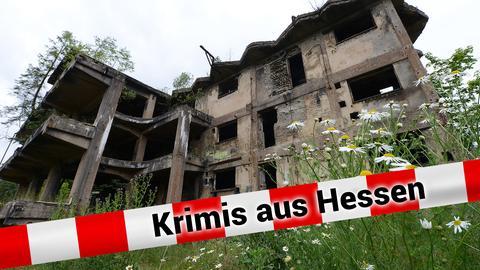 Ruine der NS-Sprengstofffabrik in Hirschhagen