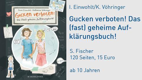 """Buchcover """"Gucken verboten! Das (fast) geheime Aufklärungsbuch"""""""