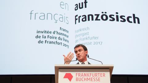 Der französische Ministerpräsident Manuel Valls