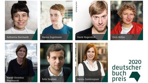 Katharina Borchardt, Hanna Engelmeier, David Hugendick, Chris Möller, Maria-Christina Piwowarski, Felix Stephan, Denise Zumbrunnen
