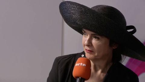 ARTE: Frankfurt auf Französisch - Amelie Nothomb