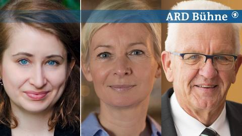 Margarete Stokowski, Dörte Hansen, Winfried Kretschmann
