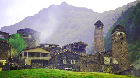Region Tusheti in Nordostgeorgien
