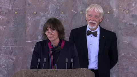 Ehepaar Assmann in Paulskirche