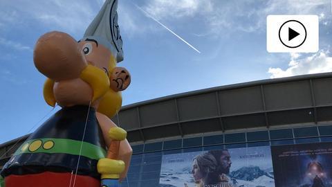 Asterix auf der Buchmesse