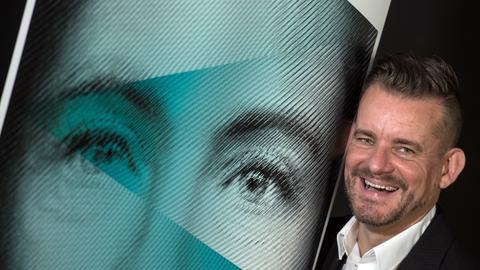 Bart Moeyaert, Künstlerischer Leiter des Ehrengast-Auftritts von Flandern und den Niederlanden auf der Frankfurter Buchmesse.
