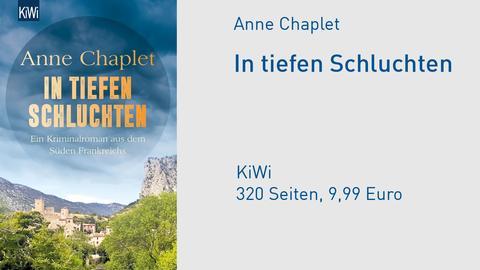 """Anne Chaplet """"In tiefen Schluchten"""""""