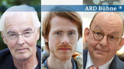 Kombi-Bild: Bodo Kirchhoff, Stefan Ferdinand Etgeton, Denis Scheck