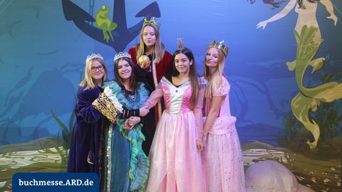 Fotos aus der ARD Fotobox von der Buchmesse 2017