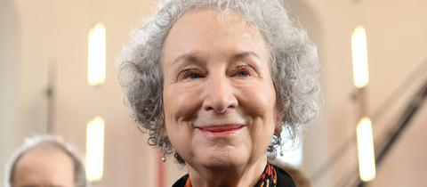 Margaret Atwood in der Frankfurter Paulskirche