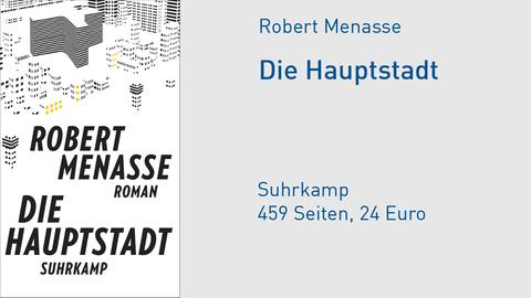 """Robert Menasse """"Die Hauptstadt"""""""