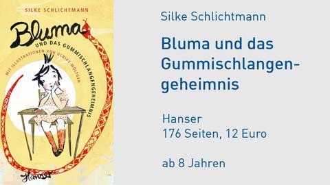 Buchcover Bluma
