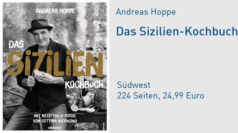 Andreas Hoppe Das Sizilien-Kochbuch Buchcover