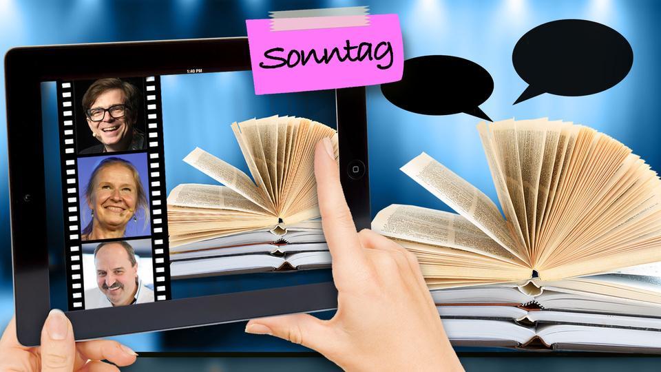 Vorschau Buchmesse-Sonntag: Digital und analog - Tablet und Buch