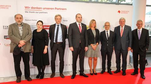 Bilder von der Eröffnung der Frankfurter Buchmesse 2018