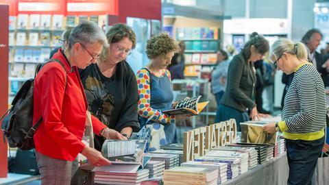 Stand auf der Frankfurter Buchmesse