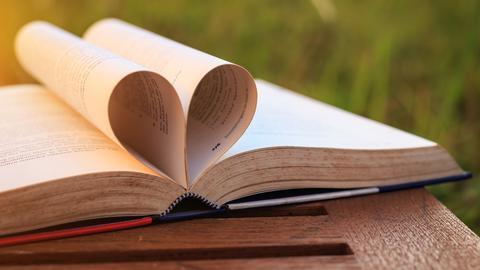 Bücher Herz