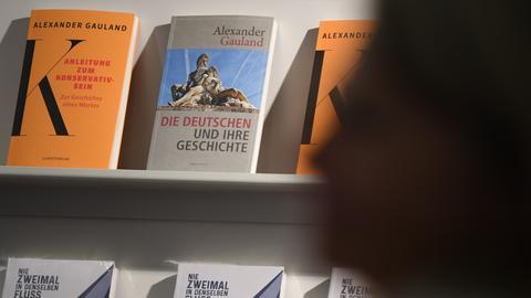 Bücher der AfD-Politiker Gauland und Höcke
