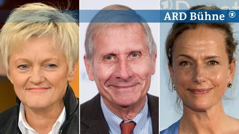 Bildkombi: Renate Künast, Ulrich Wickert, Claudia Michelsen