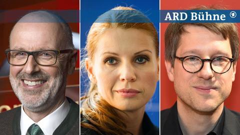 Bildkombi: Peter Wohlleben, Elisabeth Brück, Jan Wagner