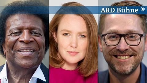 Gäste auf der ARD Bühne: Roberto Blanco, Paula Hawkins, Jan Weiler