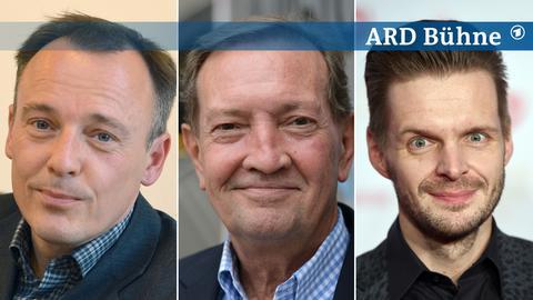 Gäste auf der ARD Bühne: Mirko Bonné, Martin Walker, Florian Schroeder