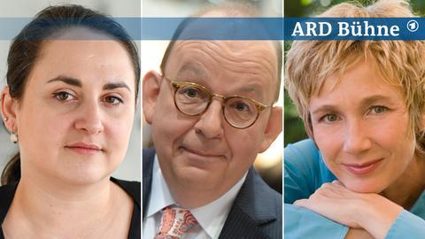 Nino Haratischwili, Denis Scheck, Amelie Fried