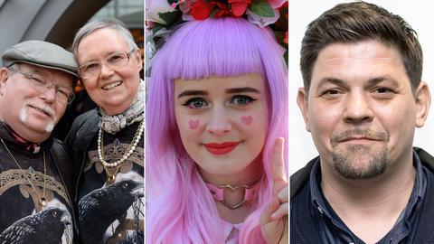 Autorenpaar Iny Lorentz, Cosplay-Girl und TV-Koch Tim Mälzer