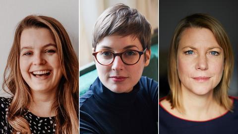 Jana Braumüller, Nina Lorenzen und Kathrin Hartmann