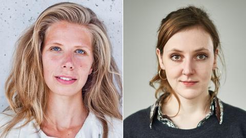 Greta Taubert und Valerie Schönian