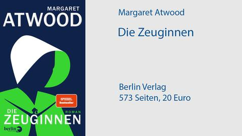 Cover Margaret Atwood Die Zeuginnen
