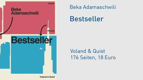 """Cover Beka Adamaschwili """"Bestseller"""""""