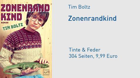 Cover Tim Boltz Zonenrandkind - Eine Jugend zwischen Eisernem Vorhang und eisernen Jungfrauen