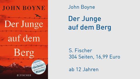 Cover John Boyne Der Junge auf dem Berg