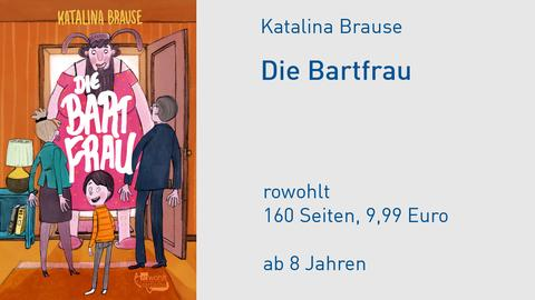 """Cover Katalina Brause """"Die Bartfrau"""""""