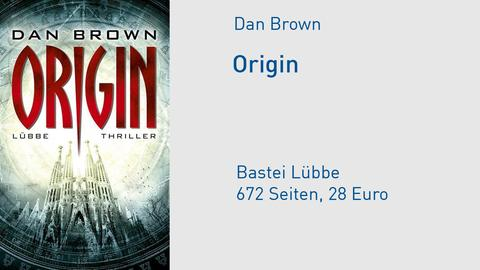 Cover Dan Brown Origin