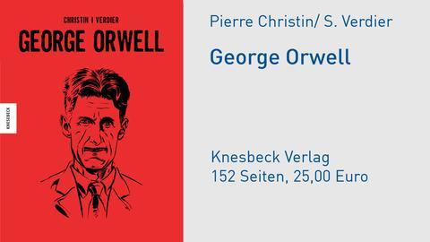 Cover George Orwell Pierre Christin, Sébastien Verdier