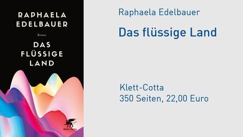 Cover Raphaela Edelbauer, Das flüssige Land