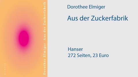 Cover Dorothee Elmiger, Aus der Zuckerfabrik